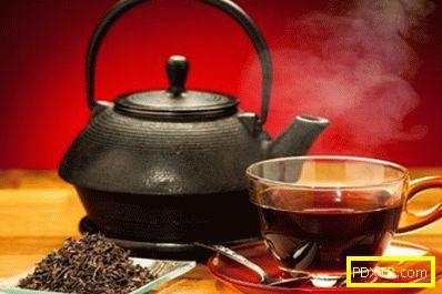 Черният чай при отслабване: полза или вреда?