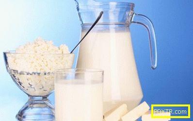 Здравословна диета на carrèle на мляко - меню със сърдечна