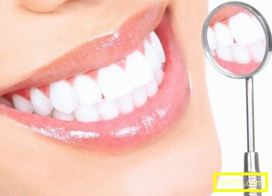 Бяла диета след избелване на зъбите
