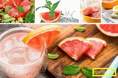 Как да отслабнете на диетата с грейпфрут?