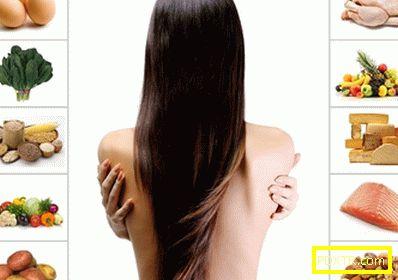 Диета за здрава коса: укрепване и растеж