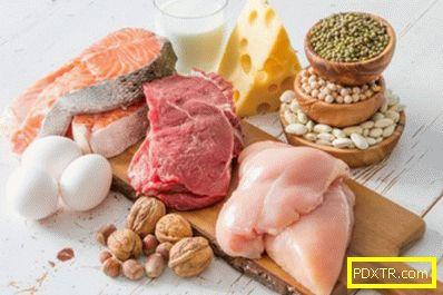 Правилното хранене за натрупване на мускулна маса