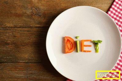 Ден след ден меню диета