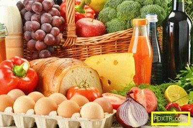Правилното хранене за отслабване на бедрата и бедрата