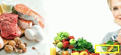 Диета с менопауза за отслабване: меню по ден