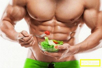 Меню диета за отслабване корема и страни