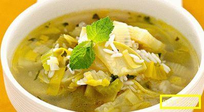 Диета bonn супа - меню за седмицата