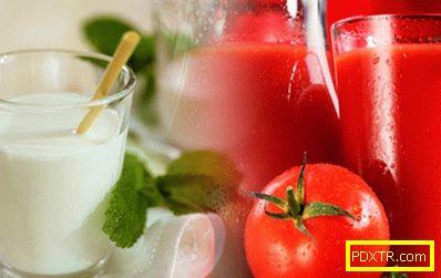 Диета върху доматен сок