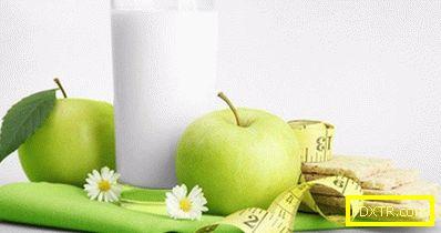Кефир диета за загуба на тегло от 10 кг на седмица