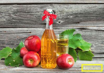 Диета на оцет ябълков оцет - меню за отслабване диета