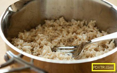 Диета за кафяв ориз за чистене на червата