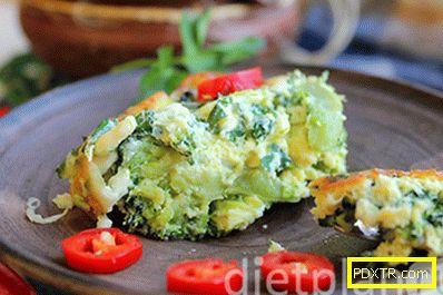 Хранилище от броколи - закуска на диета