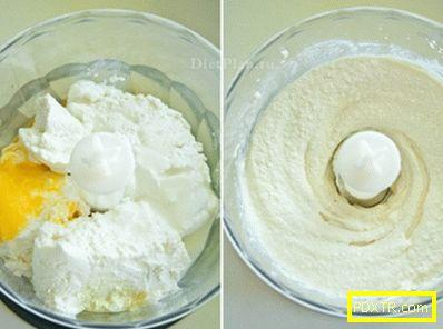 Диетични сирници с кисело мляко и лимонов сос