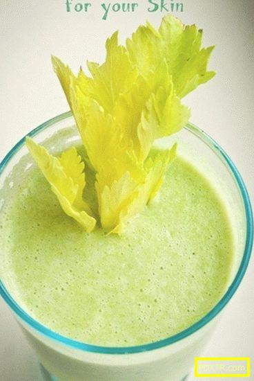 Apple-celerial пресни от киви