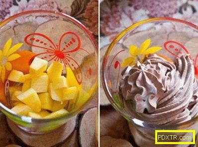 Шоколадов крем с манго