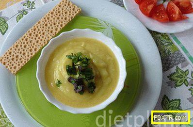 Пури супа с карфиол