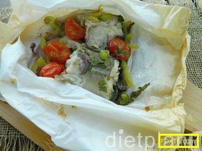 Риба със зеленчуци: нашия протеинов обяд