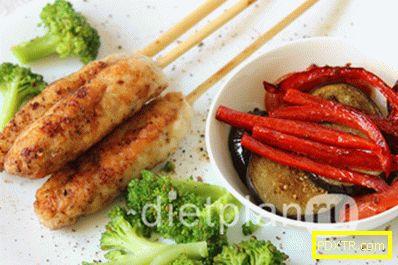Диетичен обяд: пилешко филе със зеленчуци