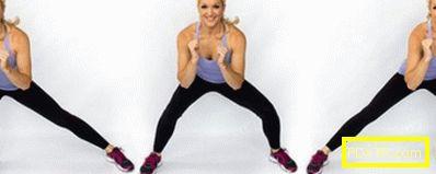 Ефективни упражнения за отслабване на вътрешните бедра