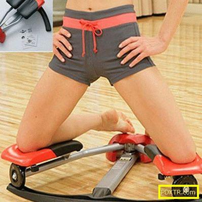 Ефективни упражнения за вътрешността на бедрото