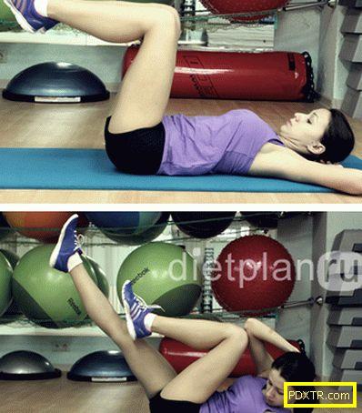 Има ли упражнения за отслабване корема?