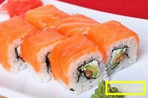 Как да направите филаделфия суши вкъщи