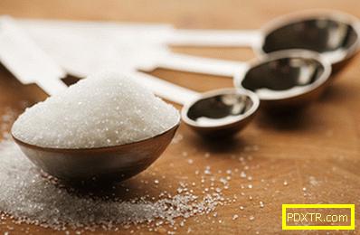 Колко калории в захарта
