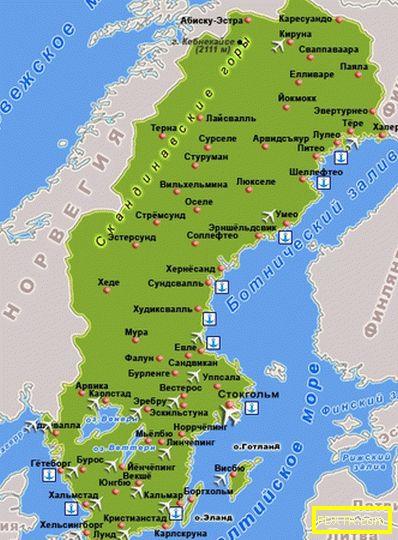 Швеция - почивка, забележителности, време, кухня, екскурзии,