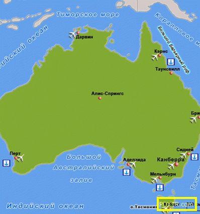 Австралия - почивка, забележителности, време, кухня,