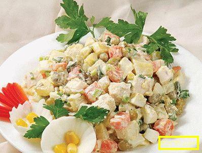 Зимна салата - най-добрите рецепти. как да подготвим вкусна