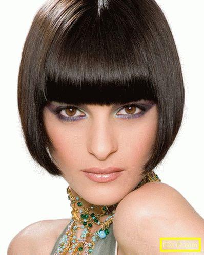 Къси прически. модни женски прически 2015 за къса коса -