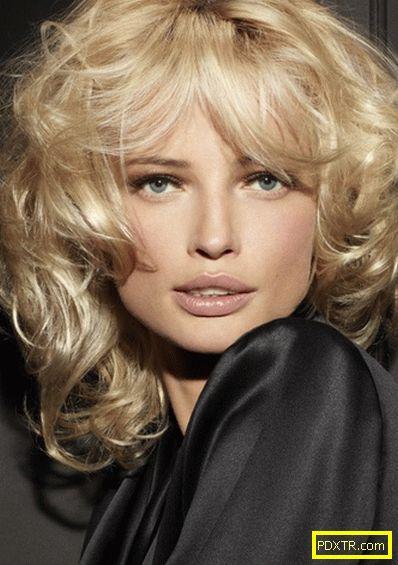 Средни прически. модни женски прически за средна коса 2015 -
