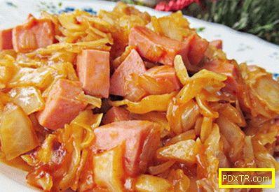 Пържено зеле - най-добрите рецепти. как да готвя печено зеле