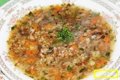 Елда супа - най-добрите рецепти. как да готвя правилно и