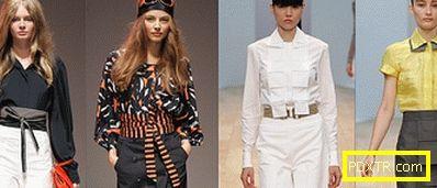 Модни блузи сезон пролет-лято 2013