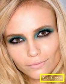 Грим за кафявите очи - как да подчертаем тяхната красота