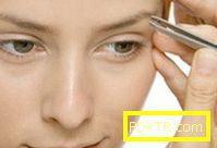 Корекция на веждите - как правилно да издърпате веждите