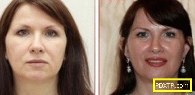 Ефектът на photoshop beauty
