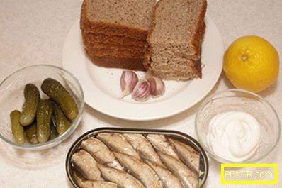 Ваканционни сандвичи - рецепта с снимка и стъпка по стъпка