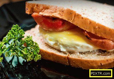 Сандвичи с яйца са най-добрите рецепти. колко бързо и вкусно