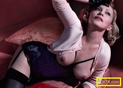 Мадона участва в провокативна фотосесия