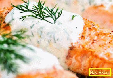 Сьомга в сметанов сос - най-добрите рецепти. как да се