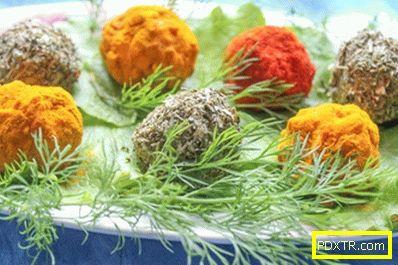 Чесън снек от разтопено сирене - ярки, сочни и евтини!