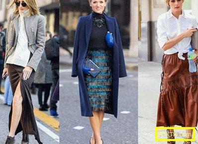 Модни поли за пролет-есента на 2015 година