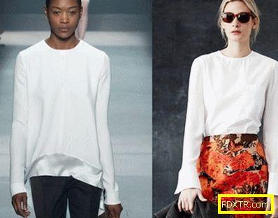 Какви блузи стават модерни през 2015 г. (снимка)