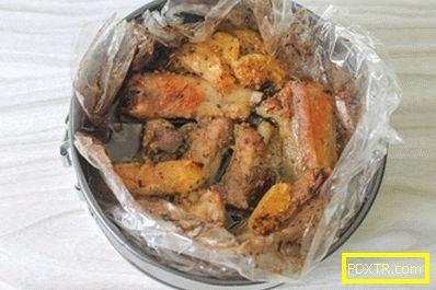 Печени свински ребра в цитрусов марината