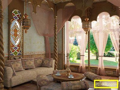 Марокански стил в интериорния дизайн. произход,