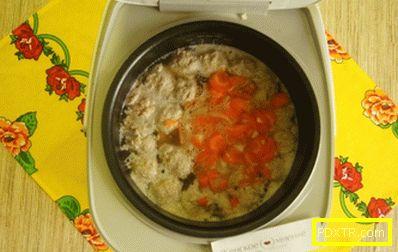 Фото-рецепта супа с кюфтета в multivarquet: обяд за един