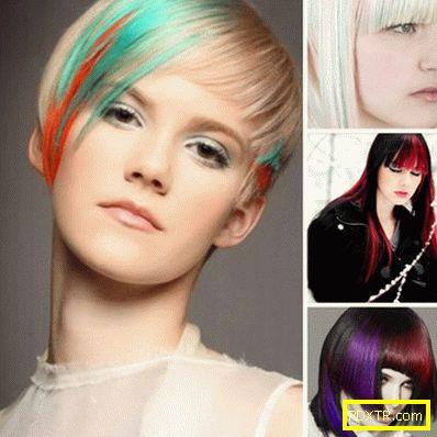 Модерен цвят на косата 2016: снимка на актуалните тенденции.