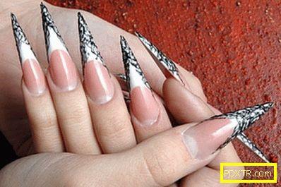 Как да изберем дизайн на остри нокти? всичко за дизайна на